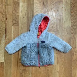 Patagonia Reversible Girls Toddler Winter Coat